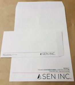 大阪府大阪市西区の企画制作デザイン、アカムトライの制作実績 SEN INC様